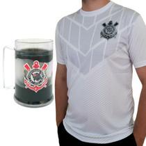 Kit Presente Corinthians Oficial - Camisa Empire + Caneca -