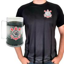 Kit Presente Corinthians Oficial - Camisa Listra + Caneca -