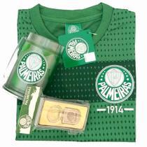 Kit Presente Palmeiras - Camisa / Caneca / Chaveiro -