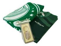 Kit Presente Palmeiras Camisa / Toalha / Chaveiro Oficial -