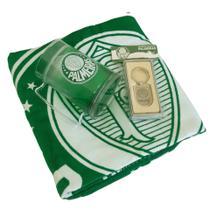 Kit Presente Palmeiras - Caneca / Toalha / Chaveiro - Oficial -