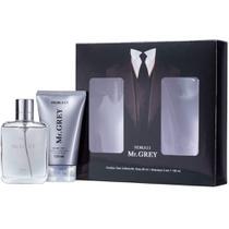 Kit presenteável masculino deo colônia mr grey 90ml e shampoo 3 em 1 150ml fiorucci -