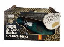 Kit Presunto Cru Ibérico Pata Negra 3 Estrelas Gran Reserva com osso 36 meses - Josep Llorens