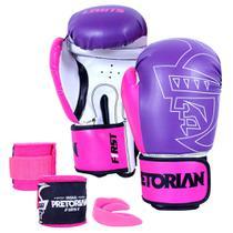 Kit Pretorian De Boxe First 10 oz -