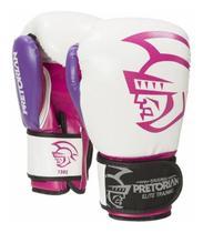 Kit Pretorian Elite Boxe E Muay Thai - Luvas Bandagem Bucal - Wilson