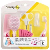 Kit Primeiros Cuidados de Seu Bebê Pente Escova Cortador de Unha Tesoura - Safety 1st -