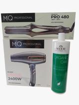 Kit Professional MQ Chapinha+Secador+Escova Progressiva 1l -