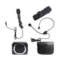Kit Professor Portátil Tsi 1210 - Amplificador De Voz - Caixa + Microfone Com Fio Supervoz Ii -