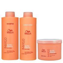 Kit Profissional Wella Professionals Invigo Nutri-Enrich Shampoo Condicionador e Máscara -