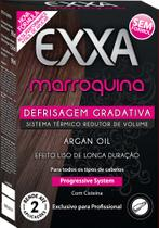 Kit Progressiva Exxa Marroquina Defrisagem Gradativa 330ml - Salon Line