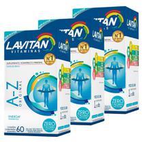 Kit Promocional 3 Lavitan A-z Polivitamínico 60 Comprimidos - Cimed