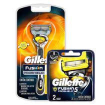 Kit ProShield: Aparelho + Carga com 2 - Gillette