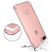 Kit Proteção Iphone 7/8  Capa Anti Shock Transparente + Película de Vidro Temperado - HREBOS