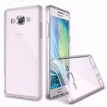 Kit Proteção Smartphone Samsung Galaxy J7 Metal (2016) Capa Transparente E Pelicula De Vidro - Kyt