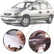 Kit Protetor de Maçaneta Película Adesivo Incolor Original Chevrolet Zafira 2001 02 03 04 05 06 07 08 09 10 11 4 Peças Protege contra Riscos de Unhas - Np Adesivos