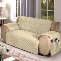 Kit protetor p/sofa 2 lugares avela - arte  cazza -
