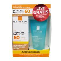 Kit Protetor Solar Facial Anthelios XL-Protect Cor Morena FPS 60 40g e Ganhe Gel Effaclar Alta Tolerância 40g -