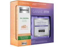 Kit Protetor Solar Facial FPS 60 e Lenço - Demaquilante NeoStrata Oil Control Promopack 40g
