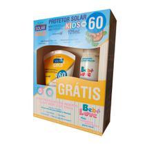Kit Protetor Solar Gold 60 Fps Kids 125ml + Spray Repelente Bebe 100ml - Nutriex