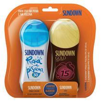 Kit Protetor solar Sundown Fps30 120ml + Fps15 Gold 120ml - Johnson