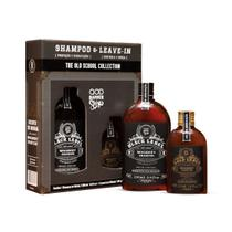 Kit - QOD Old School Whiskey Shampoo + Leave In - Qod barber shop