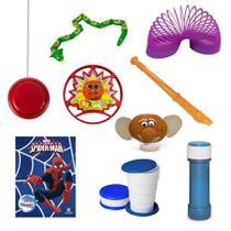 Kit Quarentena para Brincar - Menino 09 itens - Festabox