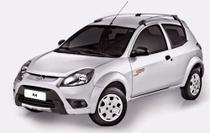 Kit Rack Teto Bagageiro Cinza Ka 08/14 - Original - Ford