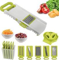 Kit Ralador Legumes E Frutas 5 Em 1 Multiuso - Kitchen