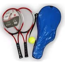 Kit Raquete De Tênis - 2 Raquetes 1 Bolinha E 1 Bolsa - Fwb