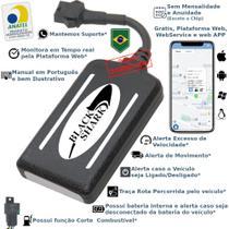 Kit Rastreador E Bloqueador Veicular Gps BlackShark- Sem Mensalidade -