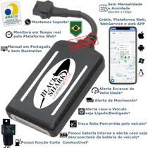 Kit Rastreador E Bloqueador Veicular Gps caldeiraTECH BlackShark- Sem Mensalidade -