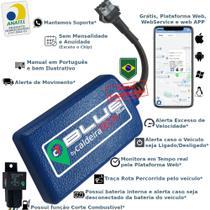 Kit Rastreador E Bloqueador Veicular Gps caldeiraTECH Blue - Sem Mensalidade -