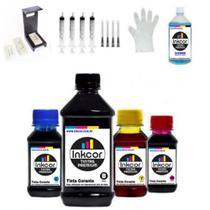 Kit Recarga Cartuchos para Impressora Compatível com HP 2776 2376 6476 Cartucho HP 667 662 664 - Formulabs
