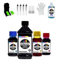 Kit Recarga Para Cartucho Compatível com HP 662 664 667 Impressora HP 1115 2136 3636 3836 2776 2376 - Formulabs