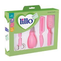 Kit Recém-nascido Higiênico Rosa 605831 Lillo -