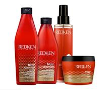Kit redken frizz dismiss sh 300ml cond 250ml masc 250ml serum 125ml -
