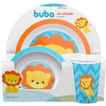 Kit Refeição Animal Fun - Leão buba -