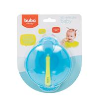 Kit Refeição Baby - Azul - Buba -