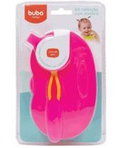Kit Refeição Com Divisória Rosa 5805 Buba -