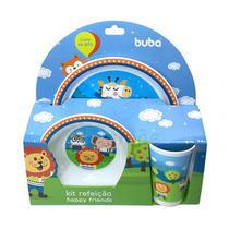 Kit Refeição Happy Friends Buba -