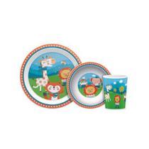 Kit Refeição Para Bebê Happy Friends - Buba -