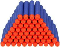 Kit Refil Dardos Para Lançador Com 60 Dardos Super Shot - Dm Toys