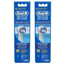 Kit Refil Escova Elétrica Oral-B Precision Clean Leve 4 Pague 3 - Oral b