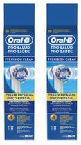 Kit Refil para Escova Elétrica Oral-B Precision Clean - 8 unidades - Oral B