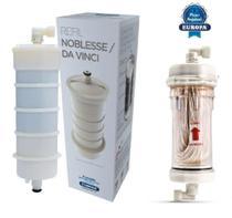Kit Refil Purificador + MRB Master (retentor de bactérias) P/ Europa Noblesse HF e Da Vinci Ice HF -