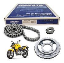Kit Relação CB 300 Com Retentor Nakata Tração Transmissão -