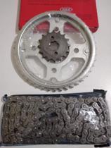 Kit relação CG Fan Titan 160 Com Retentor completa - Vaz Max