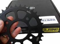 Kit Relação Honda Cbx Twister 250 Com Retentor Vaz Black Edition -