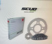 Kit relação honda cg 150 scud s/ retentor scud -
