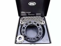 Kit Relação Honda Crf 230 Com Retentor Vaz Black Edition -